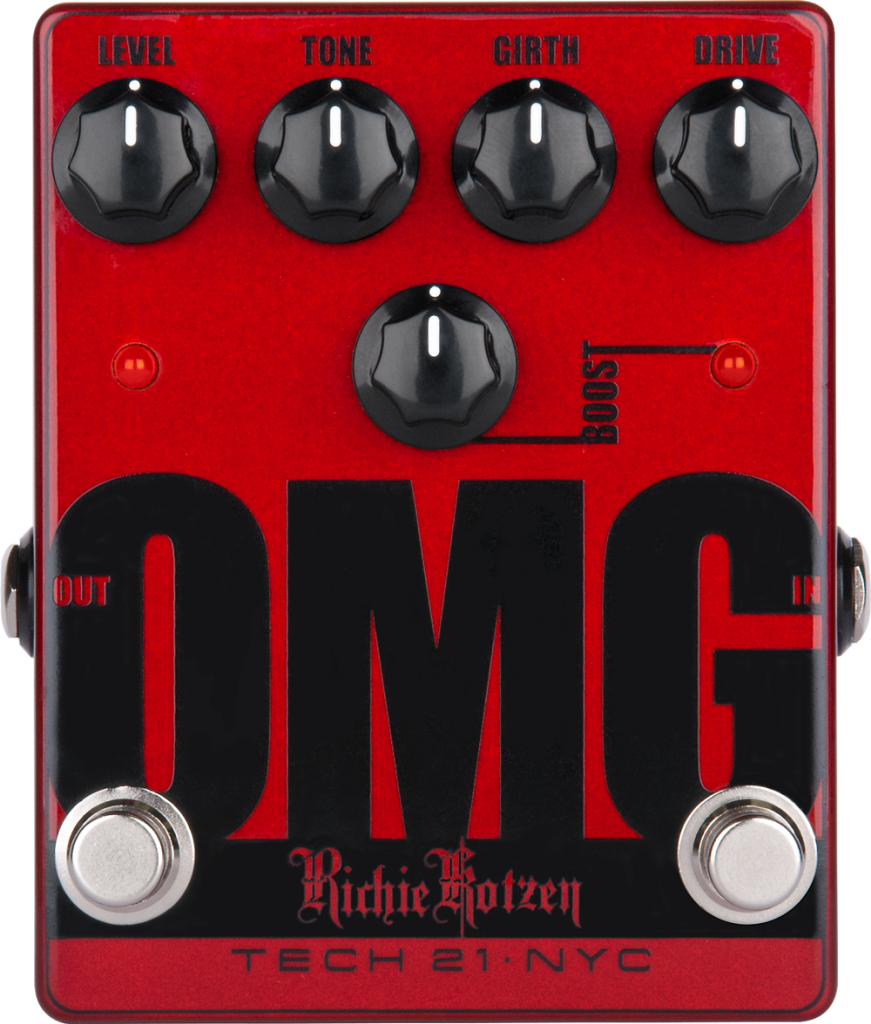 Tech 21 OMG - Richie Kotzen