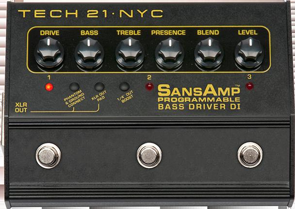 Tech 21 Bass Driver Programmable