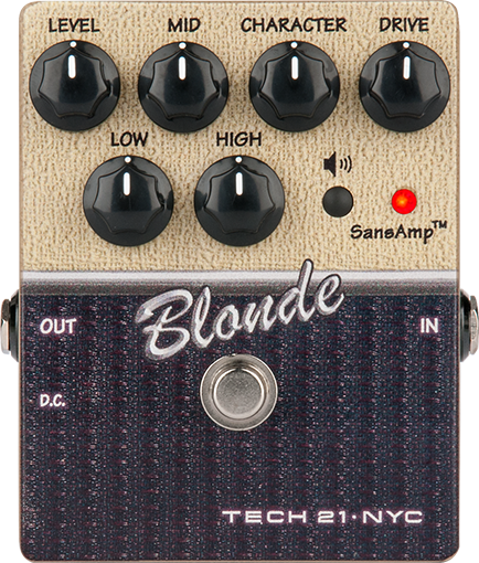 Tech 21 Blonde Character Series Pedal