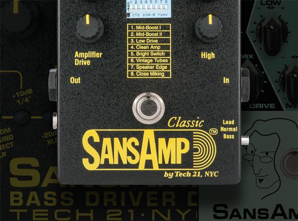 Sansamp Button