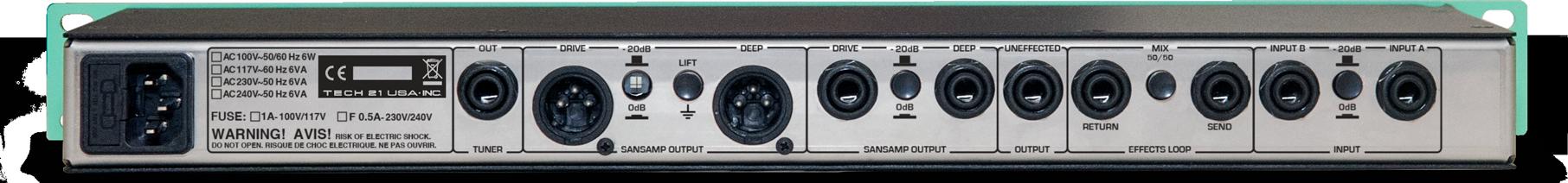 GED-2112 Rear Panel