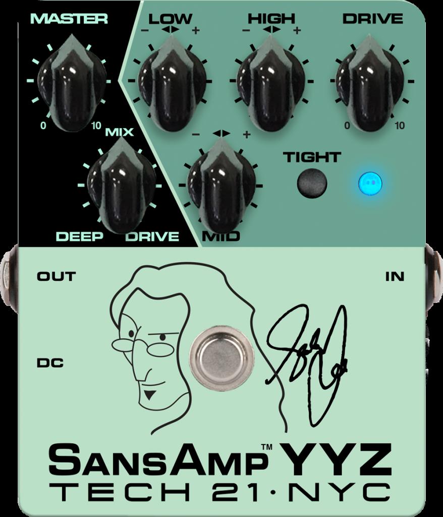 Tech 21 Geddy Lee YYZ Pedal