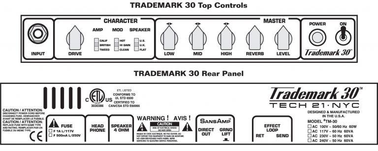 Trademark 30 Controls