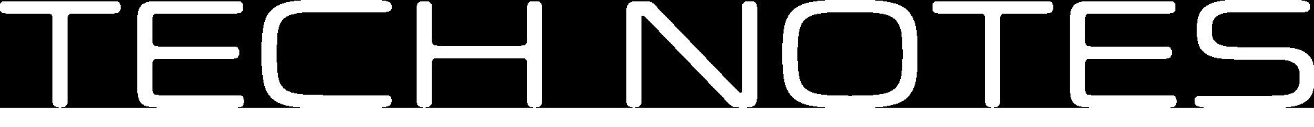 Tech 21 Tech Notes Header