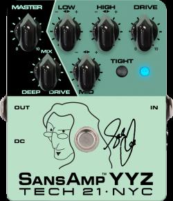 Tech 21 YYZ Geddy Lee Signature